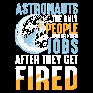 Berufswahl für einen Astronaut