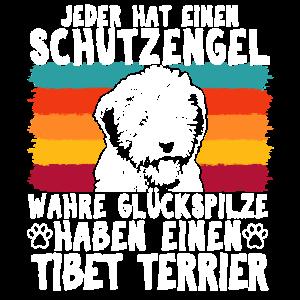 Schutzengel Tibet Terrier Vintage Hundebesitzer