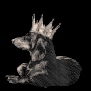 Königlicher Dackel