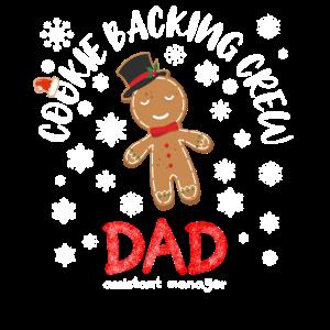 Cookie Baking Team Geschenkidee Weihnachten