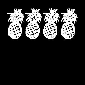 Ananas Ananas Obst Sommer tropisch