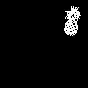 Ananas Obst Sommer Urlaub tropisch