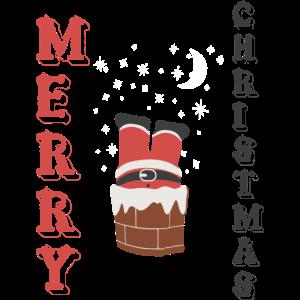 T-Shirt frohe Weihnachten noel Humor
