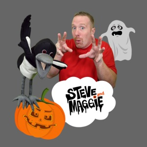 Happy Halloween with Steve and Maggie