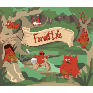 Forest Life - Mousepad