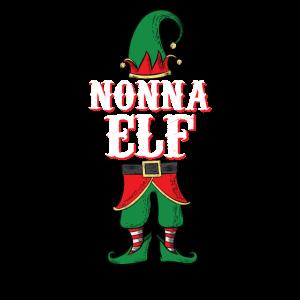 Nonna Elf - Italienische Oma Familienweihnachten