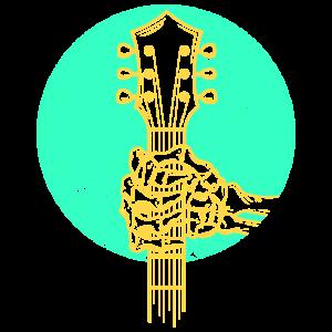 Bass Gitarre Skelett