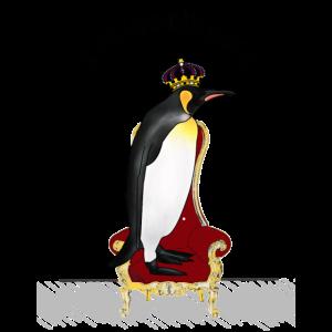 Königspinguin, Krone, Thron