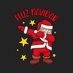 Gesichtsmaske Dabbing Santa Feliz Navidad NaviDAB
