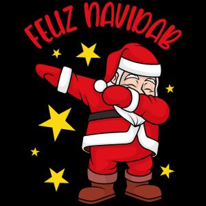 Feliz Navidad Dabbing Weihnachtsmann Feliz NaviDAB