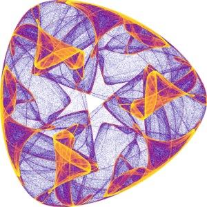 Chakra Mandala Mantra OM Chaos Star Circle 9114pla