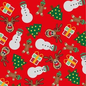 Ugly Xmas Santa red