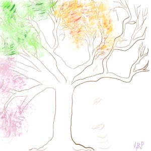 Baum / vierJahreszeiten