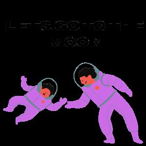 Lass uns zum Mond gehen