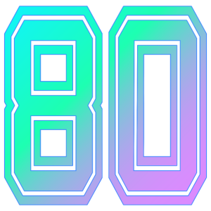 80er classic miami style