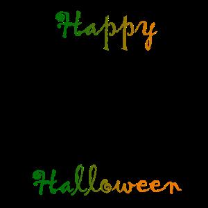 Happy Halloween mit großer Fratze