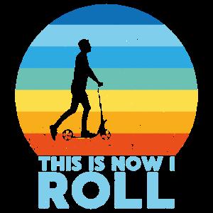 Roller Zweirad Hobby Vintage Geschenk