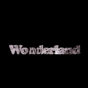 Schrift Wonderland
