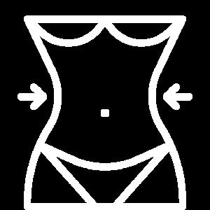 """EXKLUSIVES """"Taille"""" Frauen Oberkörper Design"""