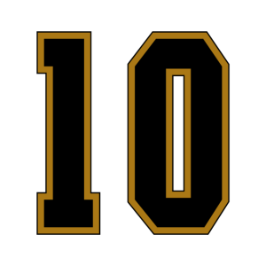 Jersey Number 10
