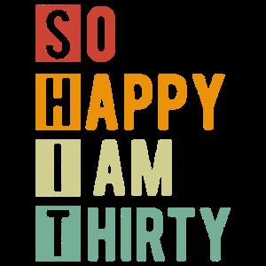 30. Geburtstag - lustige 30 Jahre Geschenke