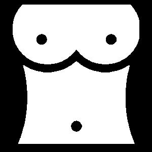 "EXKLUSIVES ""Brust"" Oberkörper Design"