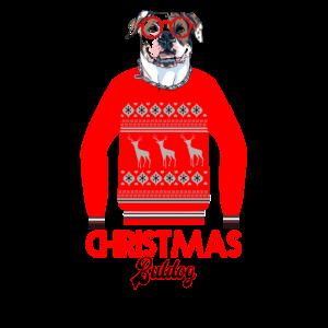 Weihnachtsbuldog