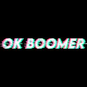 OK BOOMER Glitch