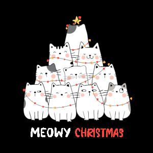 cats christmas meow