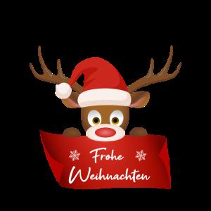 Frohe Weihnachten Elch