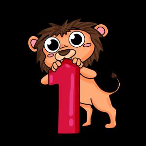 1. Geburtstag Löwe 1.Klasse Geschenk