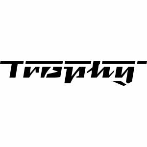 Trophy lettering