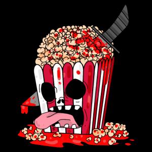 Horrorfilm Horror Film Popcorn Geschenk