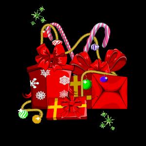Weihnachten Geschenk Weihnachtsmann Heiligabend