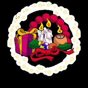 Weihnachten Weihnachtsmann Tannenbaum Heiligabend