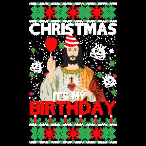 Ugly Christmas Sweater Geburtstag