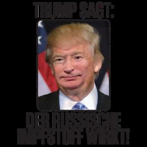 Trump Putin Der Russische Corona Impfstoff wirkt