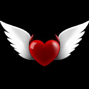 Herz Engel Teufel