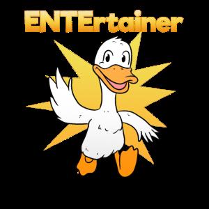 Entertainer Entenbesitzer Spruch Witzig Ente
