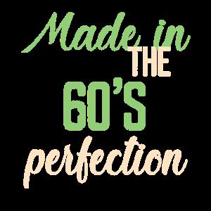 Hergestellt in der Perfektion der 60er Jahre