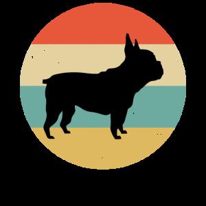 Frenchie Dogs Retro Französische Bulldogge Hundebe