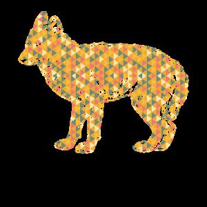 Coyote Geometric Shirts