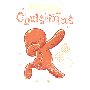 Weihnachten Lebkuchenmann Heiligabend Geschenk