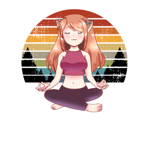 Meditation Mandala Yoga Namaste Yoga Girl Geschenk