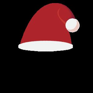 Weihnachten rote mütze
