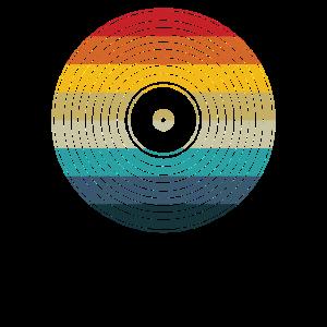 Retro Sonnenuntergang Vinyl - LP Vinyl Sammler Geschenk