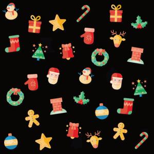 Weihnachtsmann Weihnachten Muster Geschenk