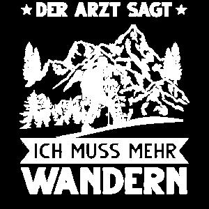 Wandern Wanderer Wanderung Geschenk