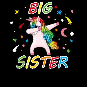 Big Sister Unicorn Lover Super Cute Sibling Gift U