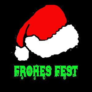 Weihnachten, Weihnachtsmütze, Frohes Fest